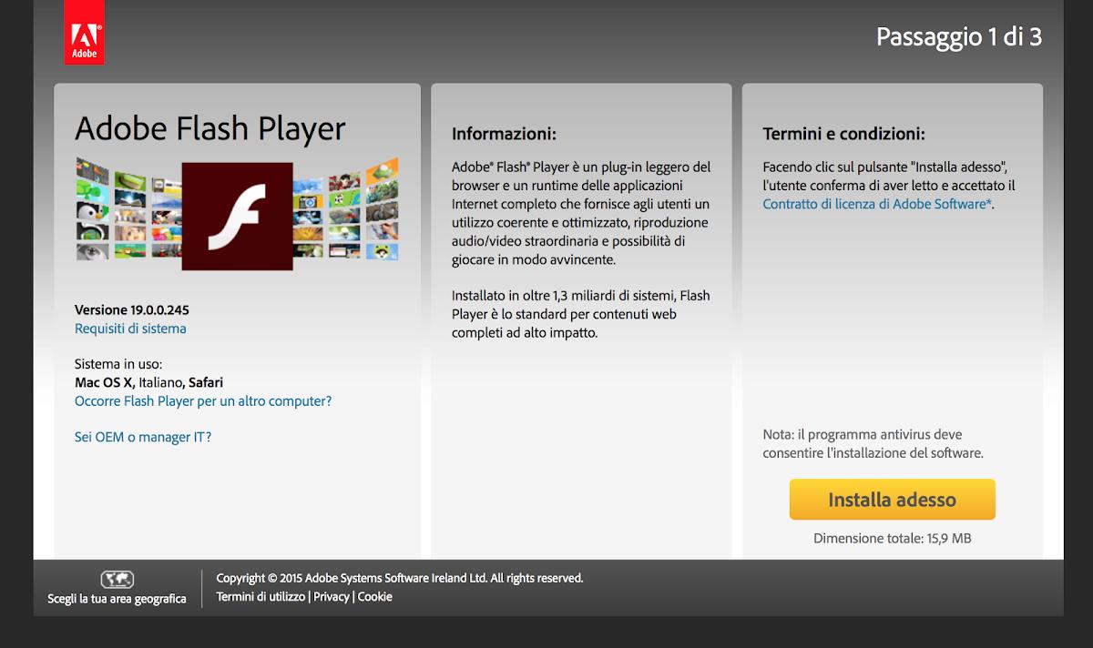 Come disinstallare Adobe Flash Player
