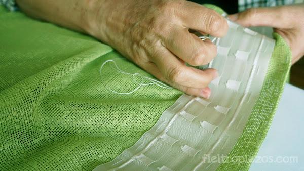 10 maneras de reciclar una funda n rdica que ya no for Como hacer un bando para cortinas