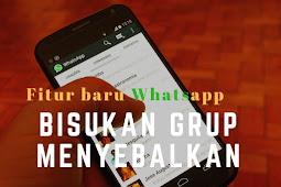 Fitur Baru Whatsapp,Bikin Tenang. dan Good ye Grup Berisik !
