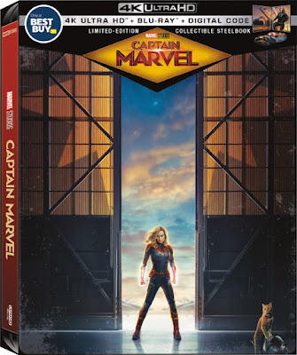 Captain Marvel Collectible SteelBook Available Only at Best Buy! #CaptainMarvel #Ad