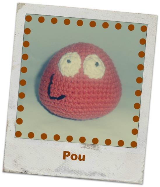 Con hilos, lanas y botones: Pou amigurumi