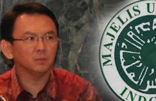 Pojokkan Ketua MUI KH Ma'ruf Amin, Ahok Minta Maaf