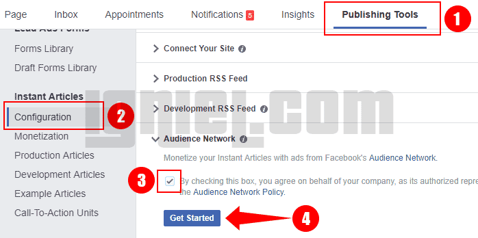 Cara Setting Payment Account Audience Network Di Facebook