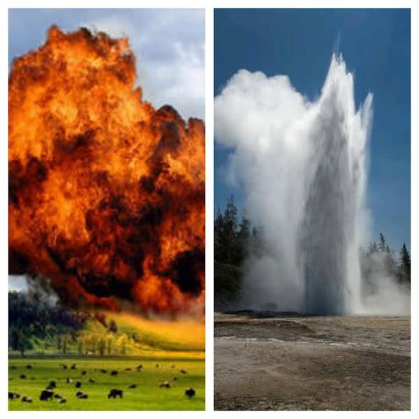 Preocupante: El Géiser Más Grande De Yellowstone Puede Provocar Que Este Volcán Despierte .