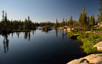 Wallpaper: Leopold Lake & Emigrant Wilderness