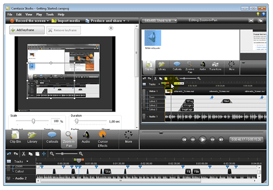 Camtasia Studio (Windows/Mac)