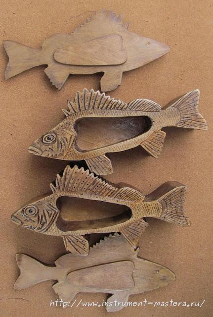 шкатулка в подарок рыбаку