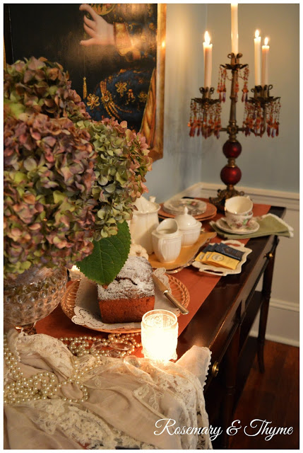 Fall Tea: The Charm of Home