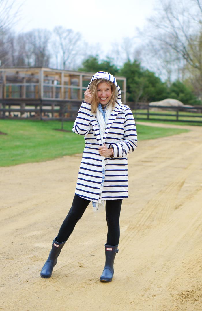 Garnet Hill rain jacket