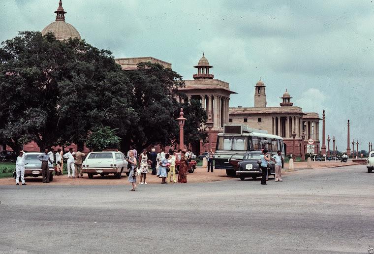 Rashtrapati Bhavan (Official home of the President of India) - New Delhi 1977