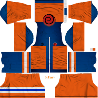 kit dream league soccer anime naruto keren