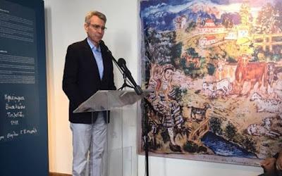 ΘΕΣΠΡΩΤΙΑ-Μουσείο Τέχνης εγκαινιάστηκε στον ακριτικό Λιά από τον πρέσβη των ΗΠΑ