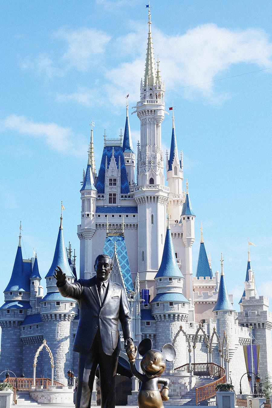 Walt Disney World in Orlando, Florida.