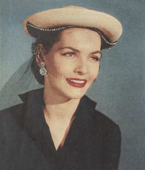 1951 hat fashion trends small and chic AWW