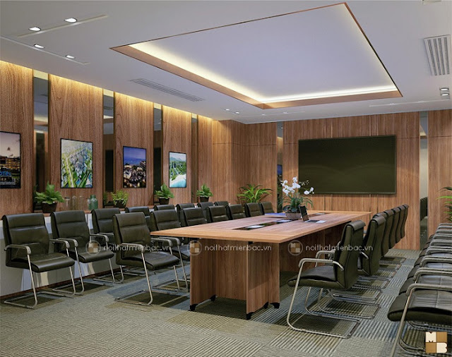Thiết kế văn phòng chuẩn thể hiện đẳng cấp doanh nghiệp - H3