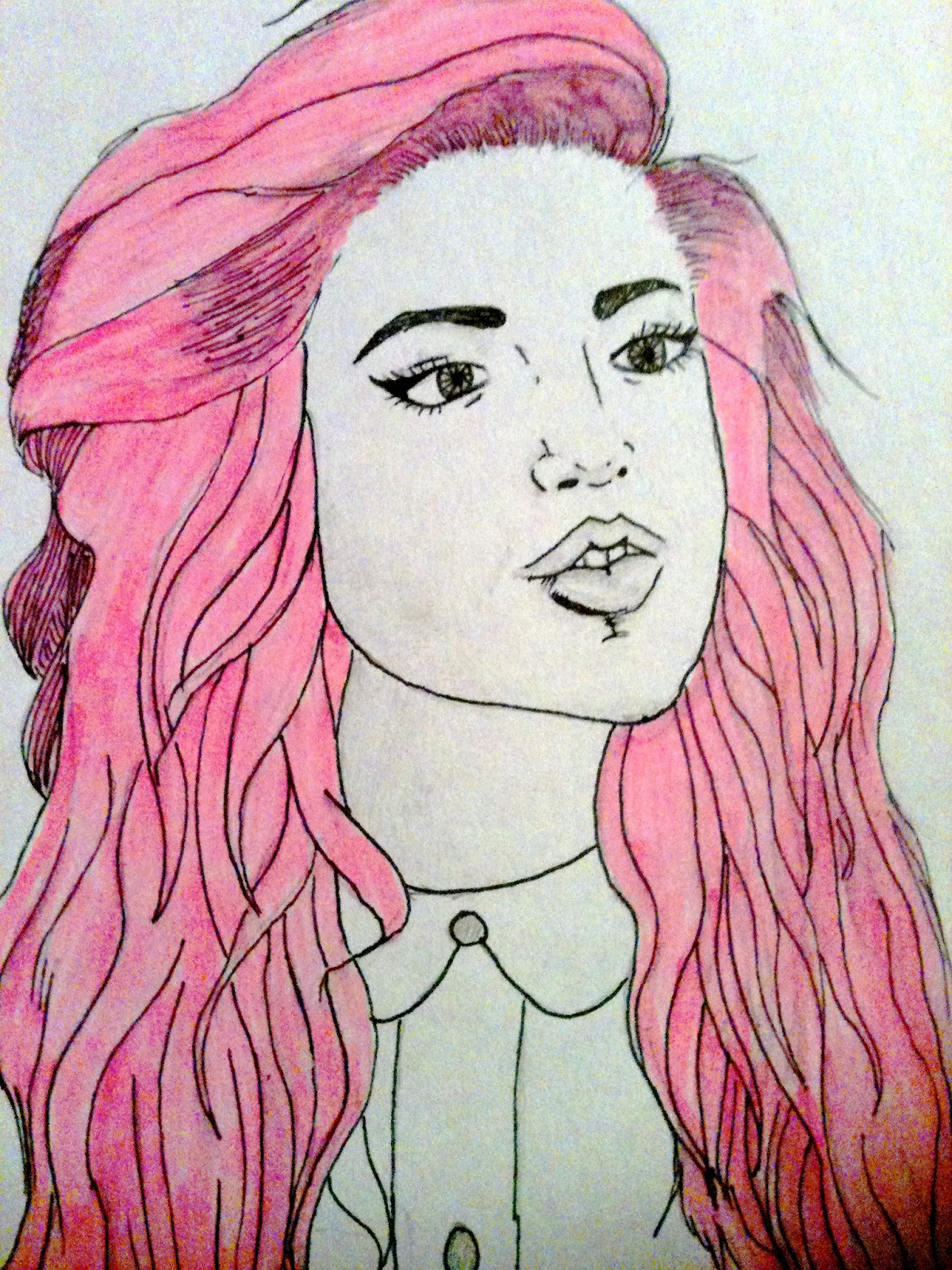 Easy Hipster Drawing Ideas Drawn Hipster Easy Tumblr Painting