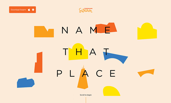 Trend and Inspiration Web Design 2018 - Name That Place