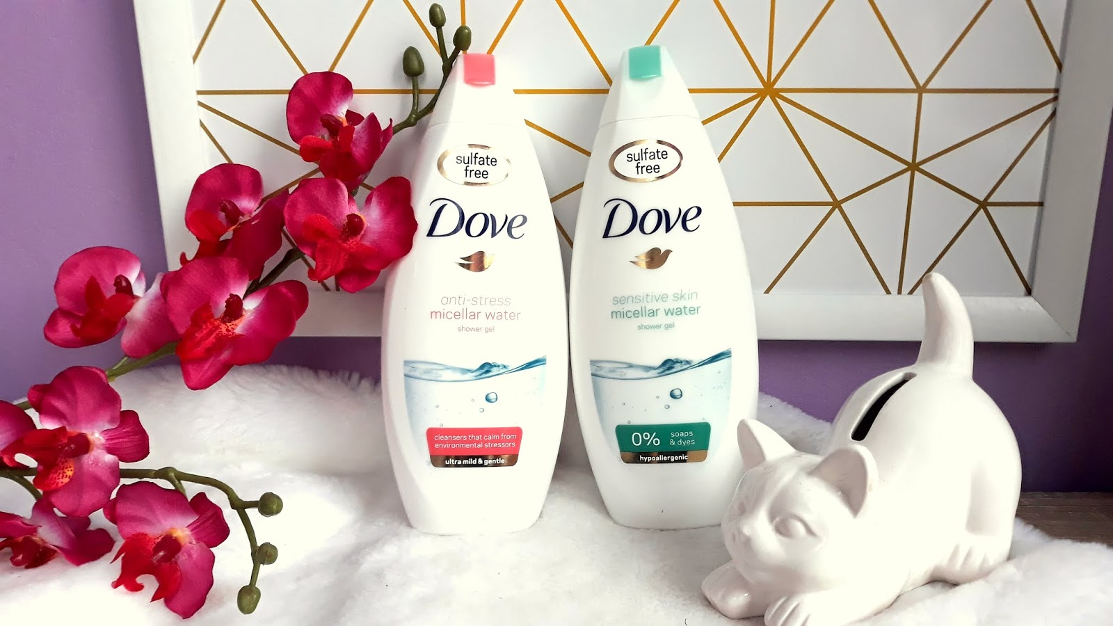 Dove Micellar Water micelarne żele pod prysznic