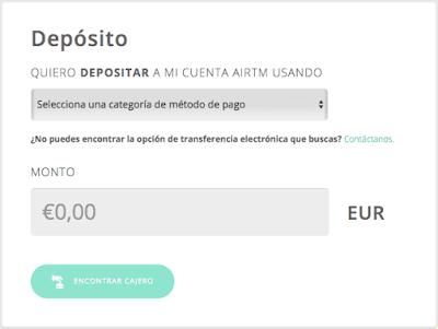 Deposito AirTM