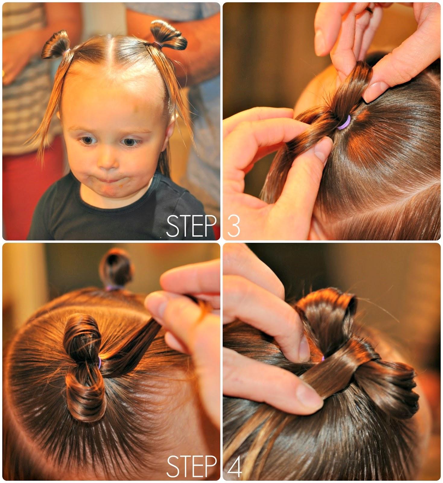 Incredible Simply Sadie Jane Toddler 39Hair Bows39 Tutorial Short Hairstyles Gunalazisus