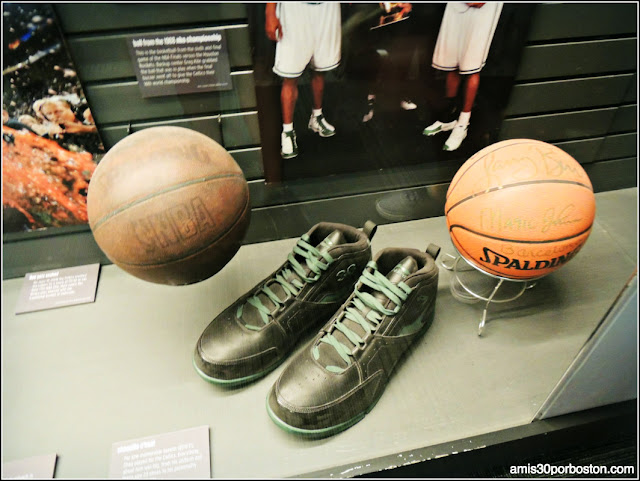 Celtics TD Garden Museo Boston