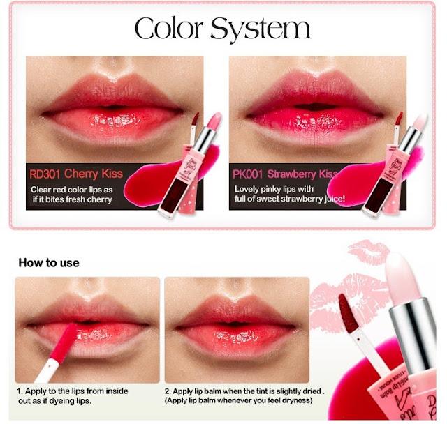 Dear Girls Tint & Lip Balm RD301