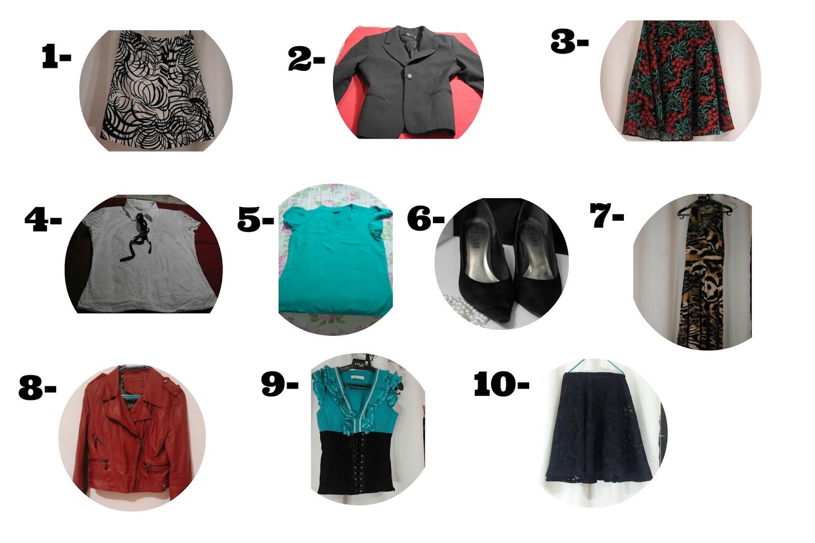 desafio 10x10 ultimo look blog estilo modas e manias