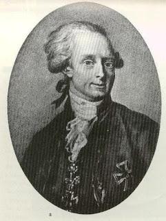 Karl Johann Christian Graf von Zinzendorf (1739-1813).