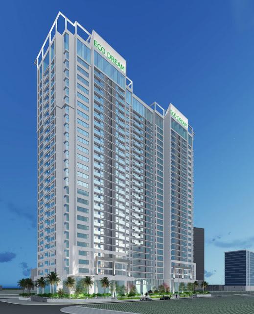 Phối cảnh tổng thể chung cư Eco Dream City