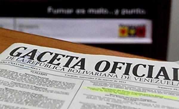 Vea los  nuevos nombramientos presidenciales que publica la Gaceta oficial Nº 41.140