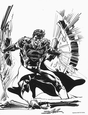 Sample page 4 of Neal Adams 2007 Sketchbook Convention Exclusive