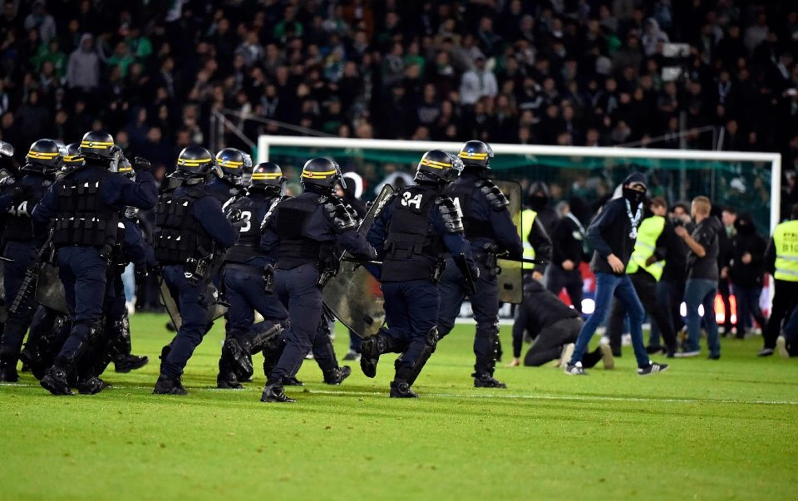 SAINT-ETIENNE VS LYON