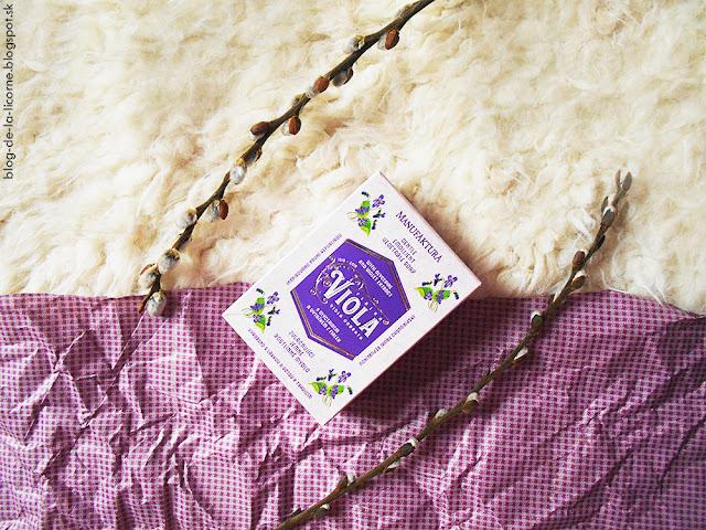 Manufaktura Viola zvláčňujúce mydlo recenzia
