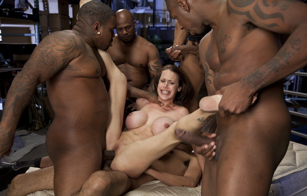 Teen White Girl Black Guy