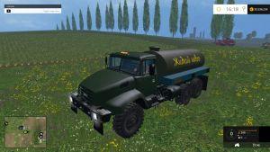 Kraz V18 manure truck