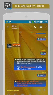 BBM Transparant Plus V2.11.0.18 Apk