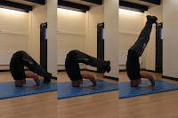 Pike press to headstand