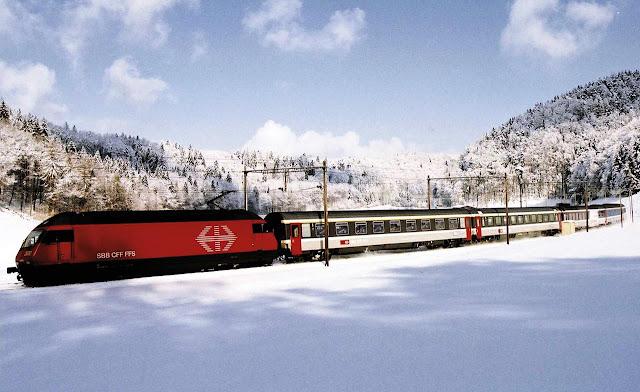 Transiberiana, no inverno