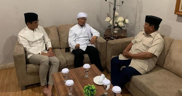 Setelah UAS dan UAH, Giliran Aa Gym Bertemu Prabowo-Sandi