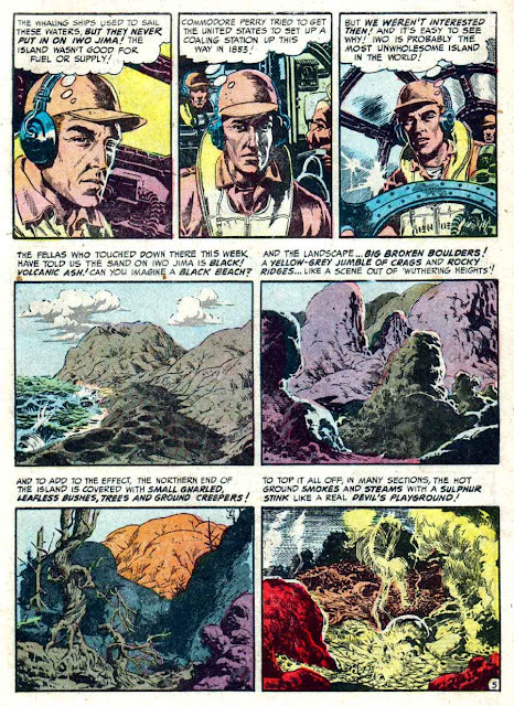 Frontline Combat v1 #7 ec golden age comic book page art by Wally Wood