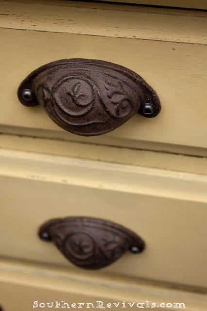 Miss Mustard Seed Yellow Dresser A Dresser Revival Southern Revivals