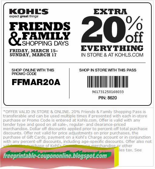 Printable coupons august 2018
