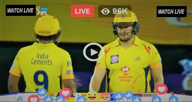 Watch CSK vs RR Live Streaming IPL