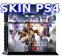 Skin para PS4 Destiny The Taken King 2015. Stock venta Lima Peru, sticker protector consola y mandos
