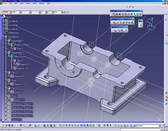 CATIA V5 SURFACE MODELLING TUTORIAL PDF