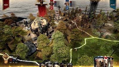Blood Rage Digital Edition Game Screenshot 4