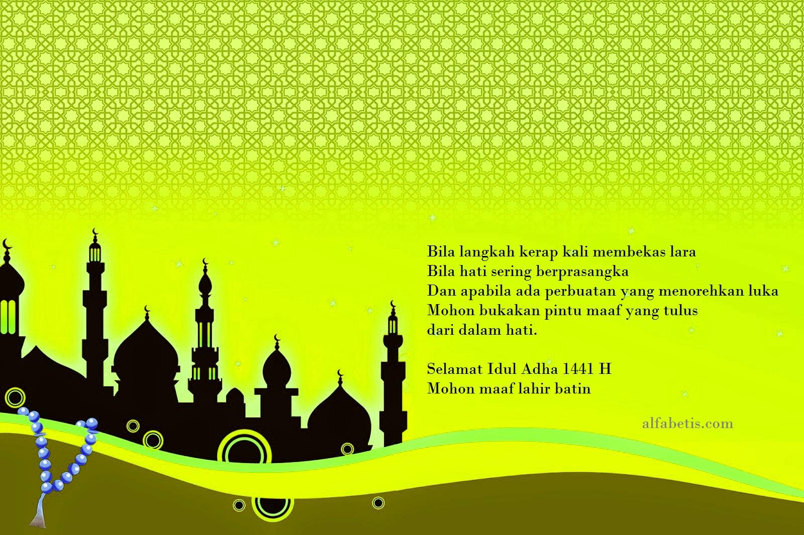 Download Gratis Kartu Ucapan Idul Adha