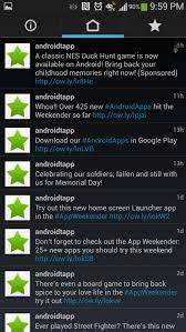 Robird - Holo Styled Twitter Client for Android phones