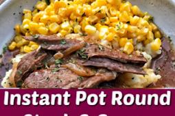 #Recipe #Steak >> Round Steak & Gravy