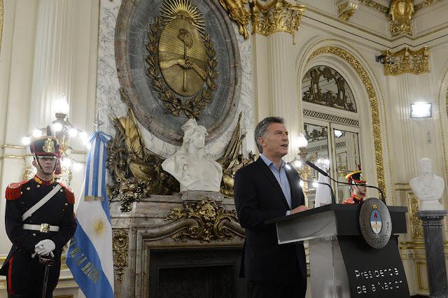 El presidente Macri presentó el Acuerdo Federal para la Construcción